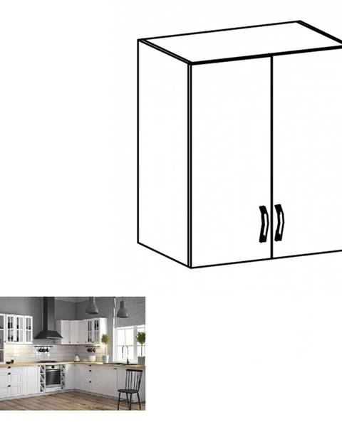 Kondela Horná skrinka G60 biela/sosna andersen PROVANCE
