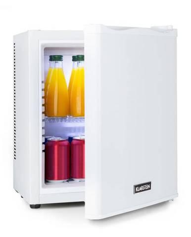 Klarstein Happy Hour 19, minibar, 19 l, 5 – 15 °C, energetická trieda A, tichý, 0 dB, LED svetlo, biely