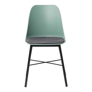 Zelená jedálenská stolička Unique Furniture Whistler