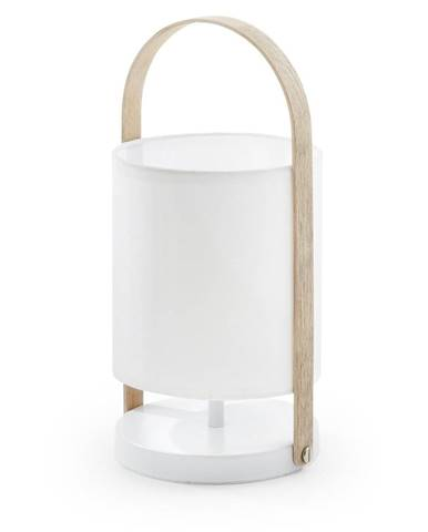 Biela stolová lampa La Forma Zayla