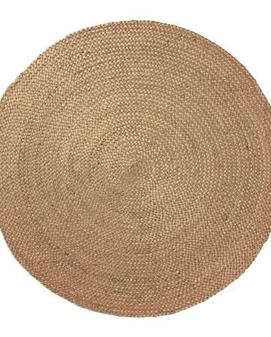 Prírodný jutový koberec La Forma Dip, ⌀100cm