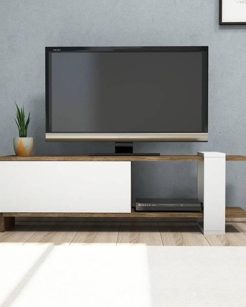 Puqa Design Biely TV stolík Gaye