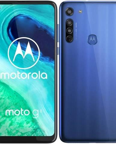 Mobilný telefón Motorola Moto G8 modrý