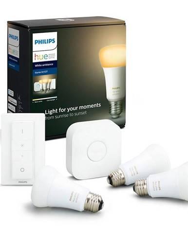 Štartovacia sada Philips Hue Bluetooth 9W, E27, White Ambiance +