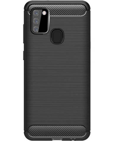 Kryt na mobil WG Carbon na Samsung Galaxy A21s čierna