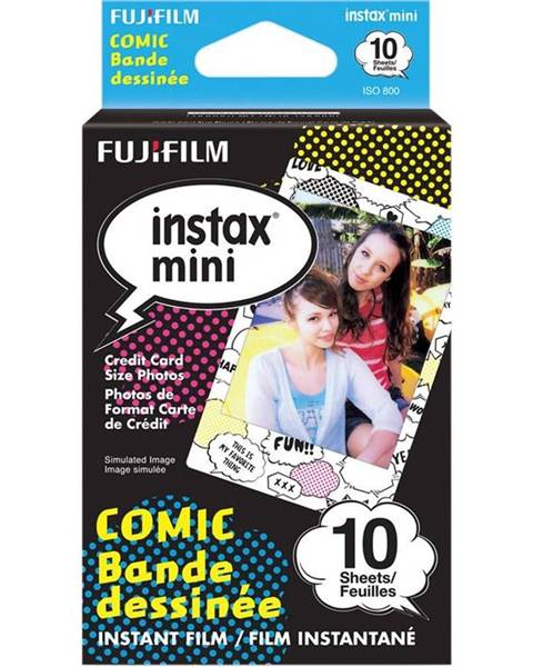 Fujifilm Instantný film Fujifilm Instax Mini Comic 10ks