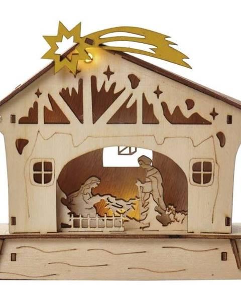 EMOS LED dekorace  Emos vánoční betlém, 18cm, 2× AAA, teplá bílá,