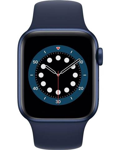 Inteligentné hodinky Apple Watch Series 6 GPS 40mm púzdro z modrého