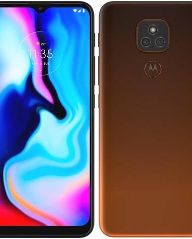 Mobilný telefón Motorola Moto E7 Plus oranžový