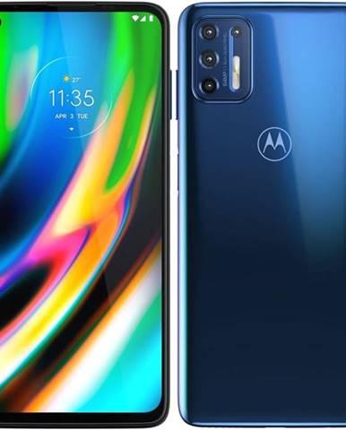 Mobilný telefón Motorola Moto G9 Plus modrý