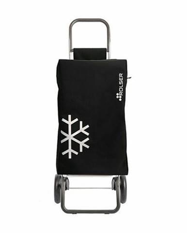 Rolser Nákupná taška na kolieskach Igloo Termo MF Convert RG, čierna