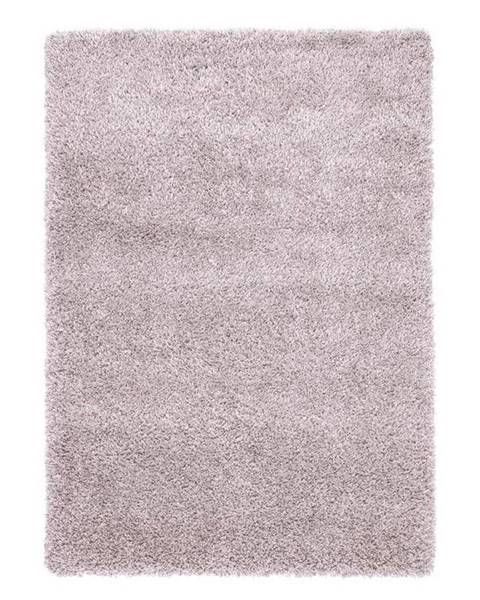 Möbelix Koberec S Vysokým Vlasom Lambada 2, 80/150cm, Ružová