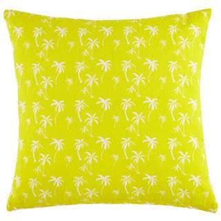 Dekoračný Vankúš Lady Palms, 45/45cm, Žltá