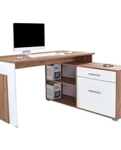 Rohový Písací Stôl Ludwig