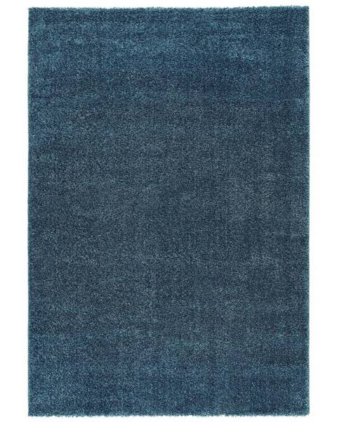 Möbelix Tkaný Koberec Rubin 3, 160/230cm, Modrá