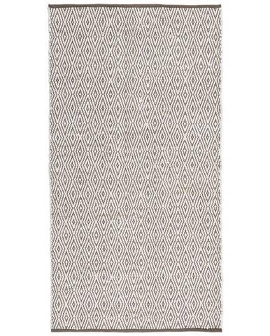 Ručné Tkaný Koberec Carmen 2, 80/150cm, Sivá