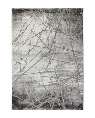 Tkaný Koberec Manchester 1, 80/150cm, Sivá