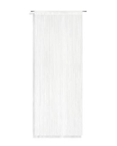 Nitkový Záves String, 90/245 Cm, Biela
