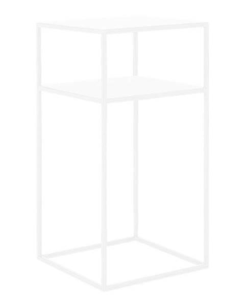 Custom Form Biely odkladací poschodový stolík Custom Form Tensio, 30 × 30 cm