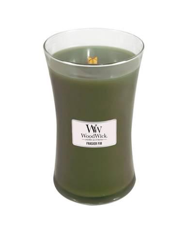 Vonná sviečka WoodWick Jedľa, 110 hodín horenia