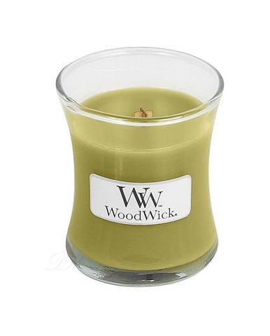 Vonná sviečka WoodWick Košík jabĺk, 20 hodín horenia