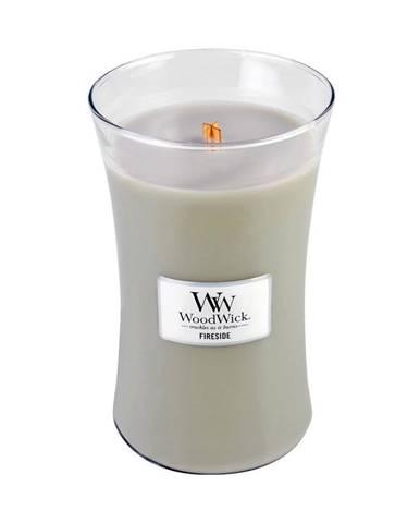 Vonná sviečka WoodWick Oheň v krbe, 110 horenia