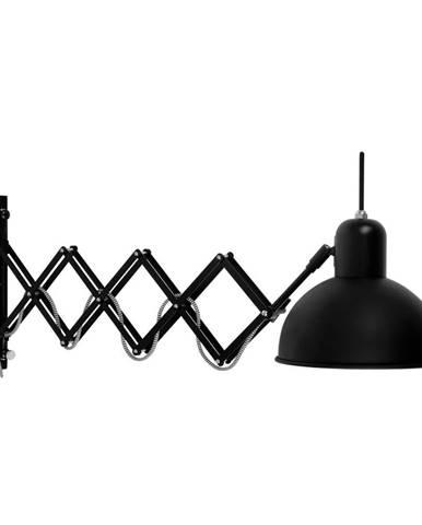 Čierna nástenná lampa Citylights Aberdeen