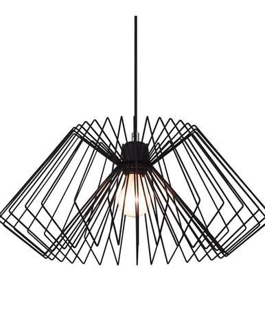 Čierne stropné svietidlo Tomasucci Cage