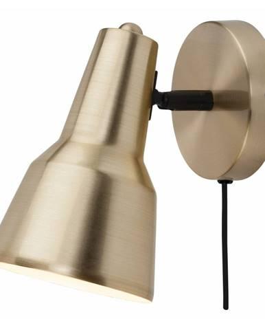 Nástenná lampa v zlatej farbe Citylights Valencia