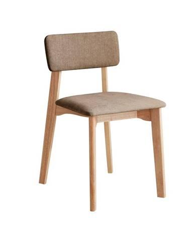 Kancelárská stolička s hnedým textilným čalúnením, DEEP Furniture Max