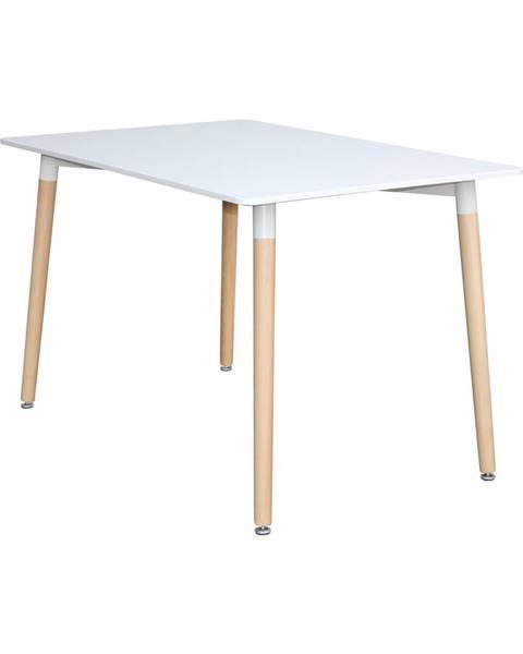 IDEA Nábytok Jedálenský stôl 120x80 UNO biely