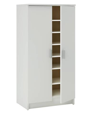 Botník 2 dvere biela
