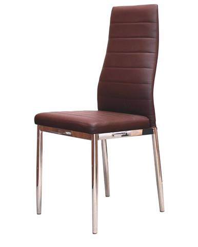 Jedálenská stolička MILÁNO hnedá