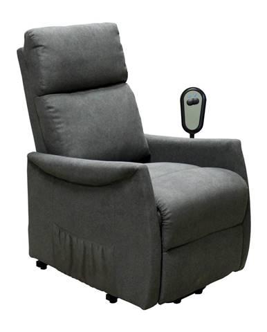 Relaxačné kreslo REX sivé