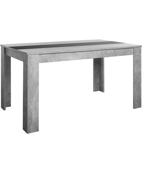 IDEA Nábytok Jedálenský stôl NIKOLAS betón