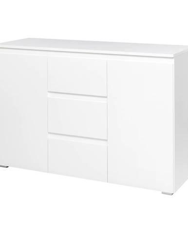 Komoda 2 dvere + 3 zásuvky IMAGE 4 biela