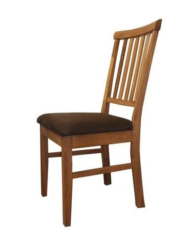 Polstrovaná stolička 4843 dub