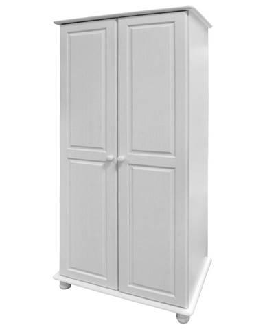 Skriňa 2-dverová 8860B biely lak