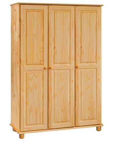 Skriňa 3-dverová 8863 lakovaná