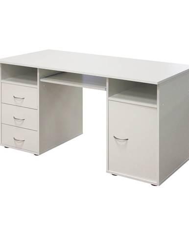Stôl na počítač 194 biely