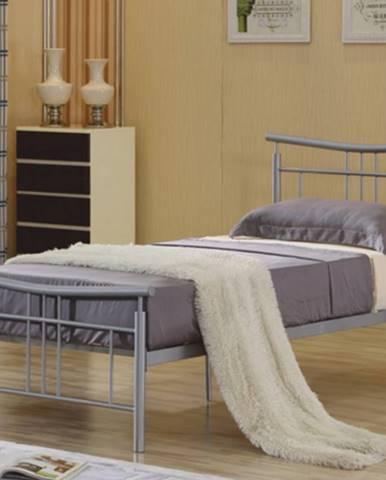 Tempo Kondela Jednolôžková kovová posteľ DORADO / 90x200