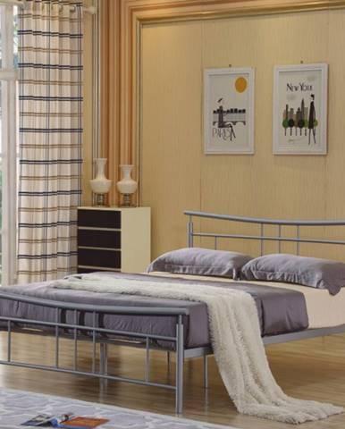 Tempo Kondela Kovová manželská posteľ DORADO / 180x200