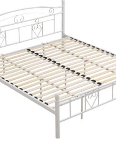 Tempo Kondela Kovová posteľ Brita 180 x 200