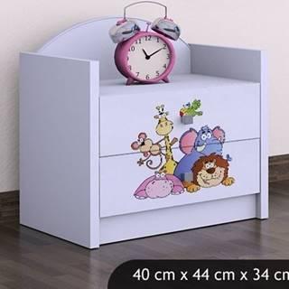 Happy Babies Nočný stolík HAPPY/ 05 Safari SZN01
