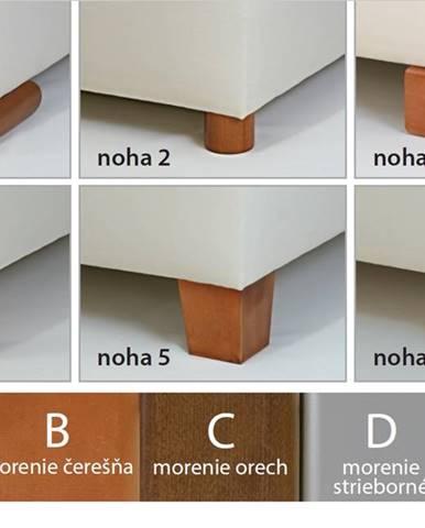New Design  Čalúnená posteľ NOVO s dlhým čelom Rozmer.