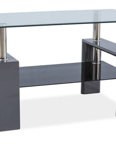 Signal Konferenčný stolík LISA III / sivý lak