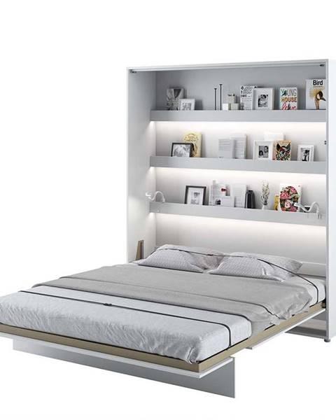 Dig-net nábytok Dig-net nábytok Sklápacia posteľ BED CONCEPT BC-13p |Biely lesk