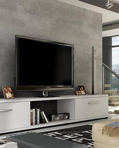 ArtAdr TV stolík ARIDEA / biela