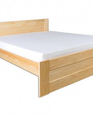 Drewmax Manželská posteľ - masív LK102   140cm borovica