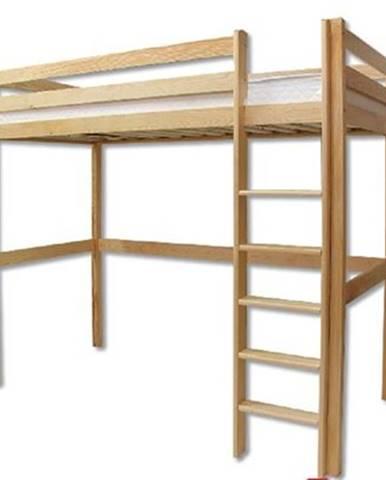 Poschodová posteľ - masív LK135   borovica